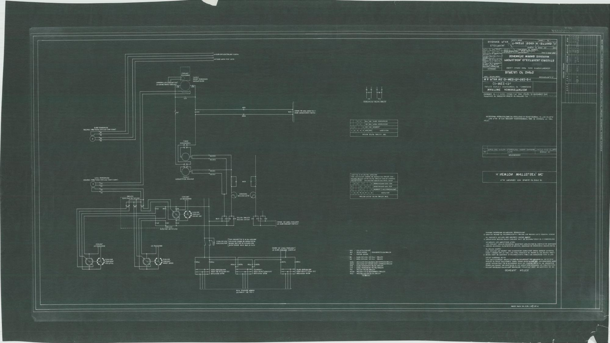 hight resolution of uss eltanin t ak 270 propulsion electrical circuits schematic wiring