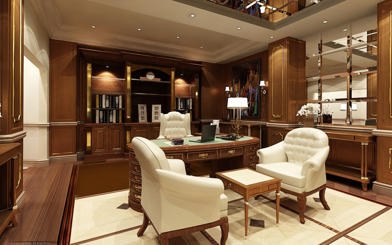67 Luxury & Modern Home Office Design Ideas & Décor (pictures
