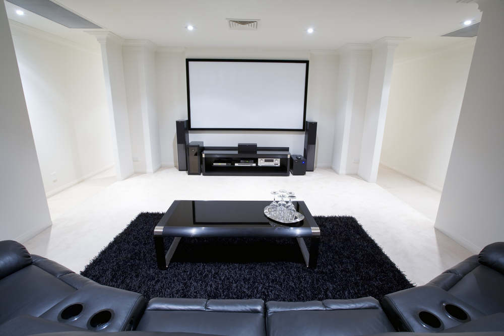 large plush sectional sofa repairs 37 mind-blowing home theater design ideas (pictures)