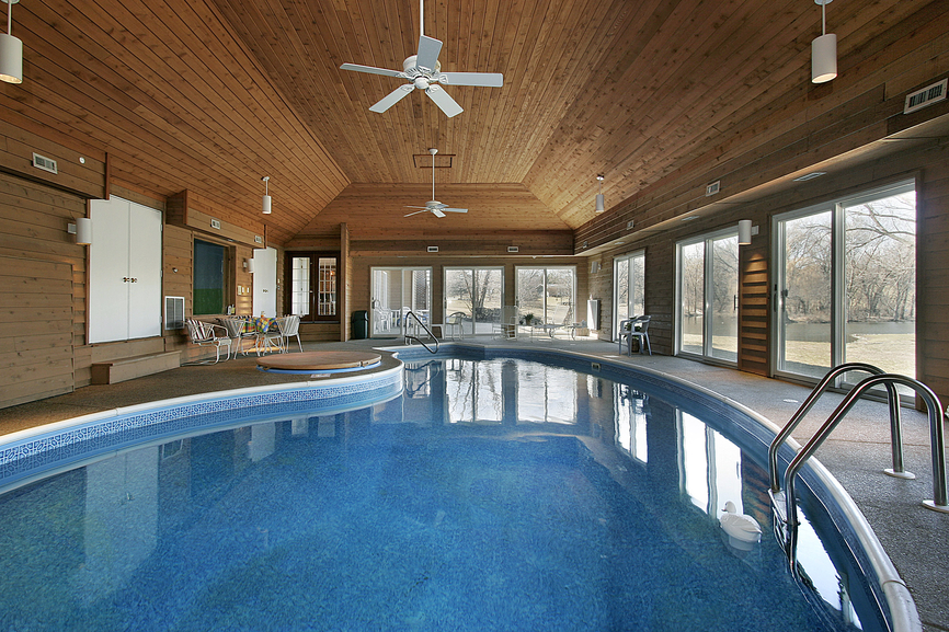 32 Indoor Swimming Pool Design Ideas (32 Stunning Pictures