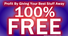 How To Make Money Giving Stuff Away Free