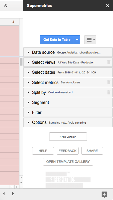 Use Case: How to Avoid Google Analytics' Sampling