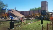 Oklahoma Church Loses Sanctuary Storm - United
