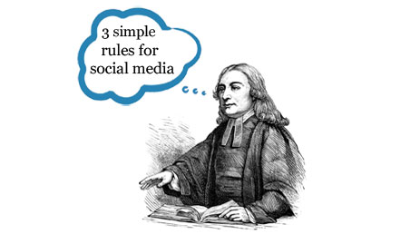 3 simple rules of social media » UMC Social Media Tips