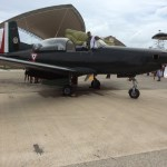 El avión Pilatus PC-7 Turbo Trainer