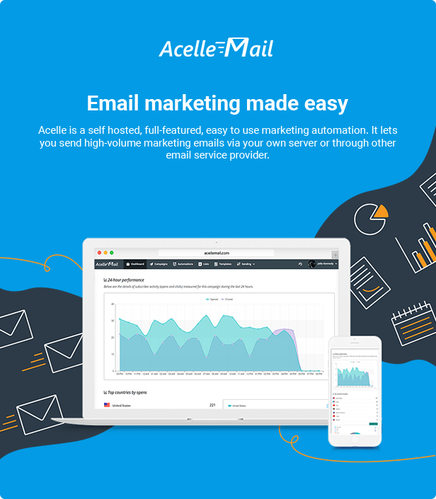 Acelle Email Marketing Web Application - 2