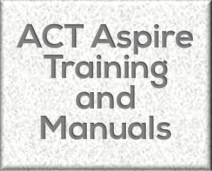 ACSI > PDP Store > Assessment Support > ACT Aspire Manuals