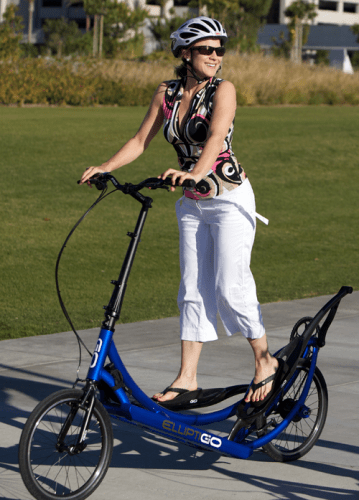 ElliptiGO Happy User - Blue