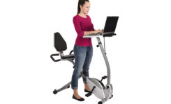 Using the Recumbent Workstation Bike as a Standing Desk