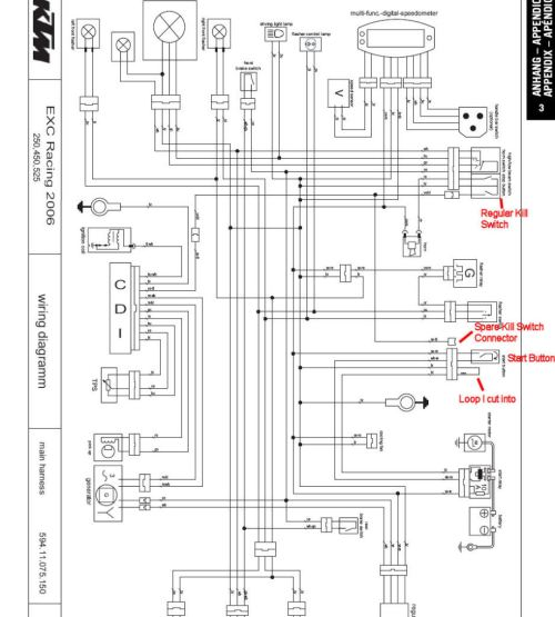 small resolution of 2008 ktm exc wiring diagram wiring diagram pass 2008 ktm wiring diagram 450