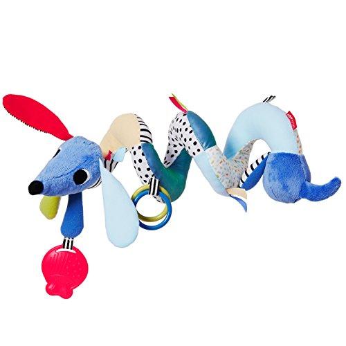 Skip Hop Vibrant Village Musical Spiral Toy-Dog, Multi