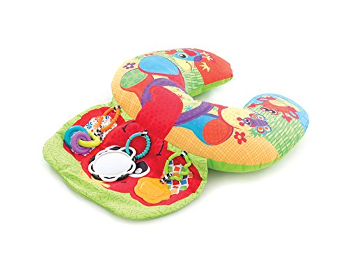 Playgro 0184570 Lay and Play Elephant Hugs Pillow for Baby