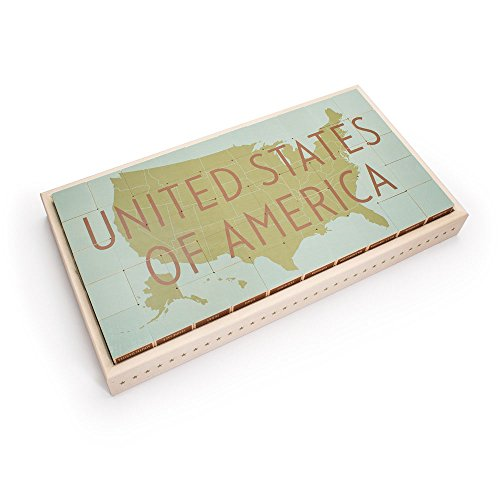 Uncle Goose United States Blocks – Made in USA