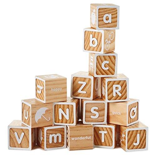 Hallmark Wooden Alphabet Block Set