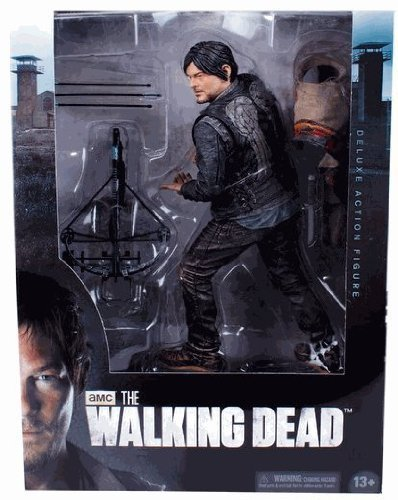 McFarlane Toys AMCs The Walking Dead TV Daryl Dixon 10 Deluxe Action Figure