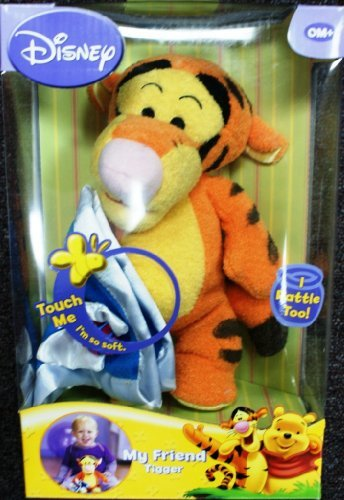 Disney My Friend Tigger So Soft doll – I am a rattle too!