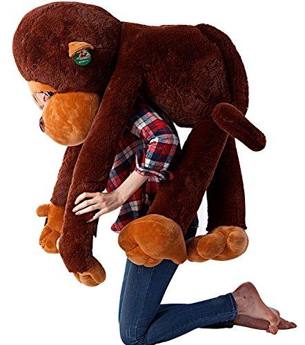 Mogor The Giant Monkey Stuffed Plush Toy Doll Perfect Bithday Present Kids Gift 110cm