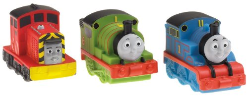 Fisher Price Thomas And Friends Bath Squirters (3 Pack, Styles May Vary)