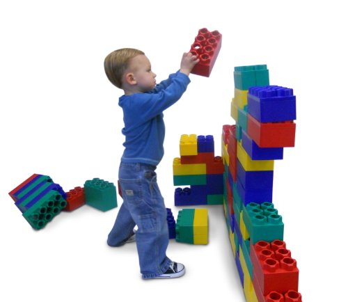 96pc Jumbo Blocks – Standard Set (Made in the USA)