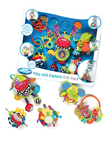 Playgro 0183497 Play and Explore Gift Pack for Baby