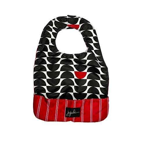 Ju-Ju-Be Onyx Collection Be Neat Reversible Bib, Black Widow