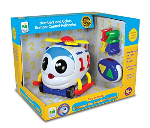 The Learning Journey Chopper the Number Remote Control Shape Sorter Copter