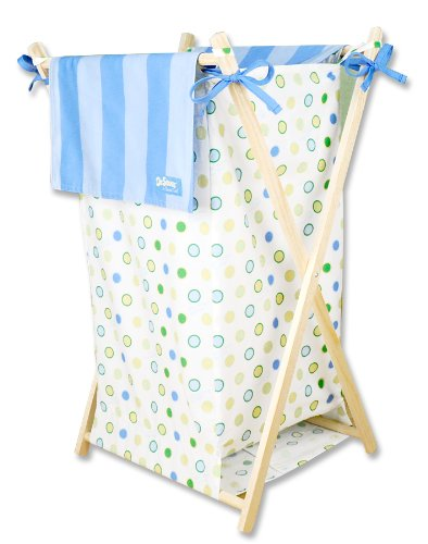 Trend Lab Dr. Seuss Hamper Set, Oh! the Places You'll Go! Blue