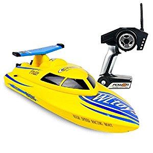 GordVE RC Boat 4CH 2.4G High Speed RC Boat RTF Charging Remote Control Boat