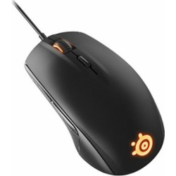 SteelSeries Rival 100, Optical Gaming Mouse – Black
