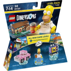 LEGO DIMS SIMPSONS LEVEL PACK