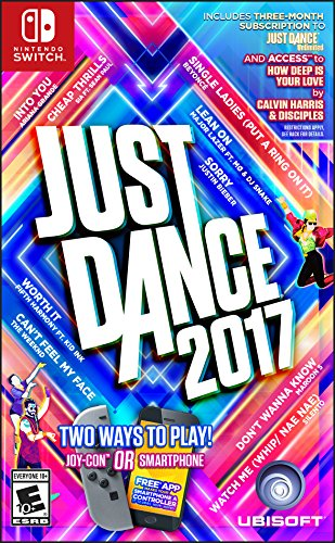 Just Dance 2017 – Nintendo Switch