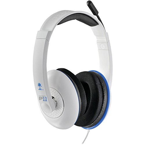 Turtle Beach – Ear Force P11 Amplified Stereo Gaming Headset – PS3 – White