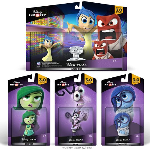 Disney Infinity 3.0: Inside Out Toy Bundle – Amazon Exclusive