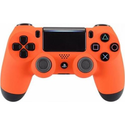 "DualShock 4 Wireless Controller for PlayStation 4 – ""Soft Touch"" (Orange)"