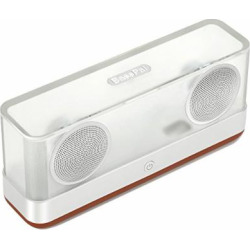 Wireless Bluetooth Speaker,BassPal i30 Transparent Portable Speakers V4.2 with TF Card Slot,12h Playtime,20W HD Stereo Sound and Bold Bass,66ft Bluetooth Range for Phones,PC, Tablets etc.Gift Ideas