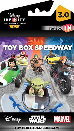 Disney INFINITY 3.0 Edition: Toy Box Speedway (a Toy Box Expansion Game) – Not Machine Specific