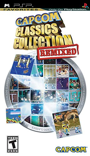 Capcom Classics Collection Remixed – Sony PSP