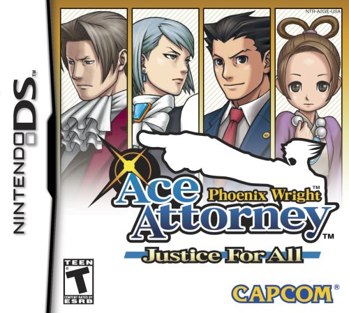 phoenix wright ace attorney justice for all nintendo ds -