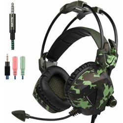 gaming headset for new xbox one ps4 pc laptop mac tablet smartphone ipad ipod -