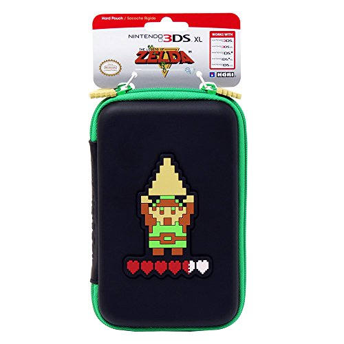 hori retro zelda hard pouch for new 3ds xl and nintendo 3ds xl -