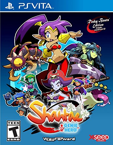 Shantae: Half-Genie Hero – Risky Beats Edition – PlayStation Vita