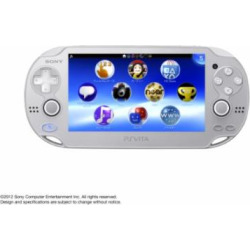 PlayStation Vita – WiFi Ice Silver – Japanese Version (only plays Japanese version PlayStation Vita games)