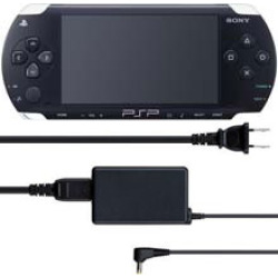 used sony psp system 2000 with ac adapter and battery 7 -