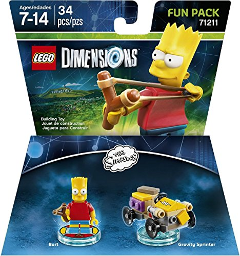 lego dimensions simpsons bart fun pack 2 -