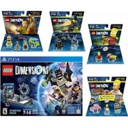 lego dimensions starter pack the simpsons homer simpson level pack bart 3 -