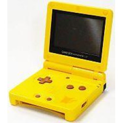 hard picatuwedition gba gameboy advance sp console -
