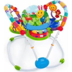 baby einstein activity jumper special edition neighborhood friends new -