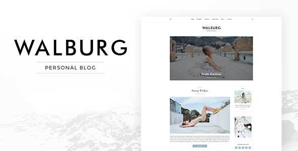 Walburg | WordPress Personal Blog Theme