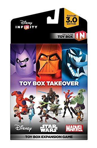 Disney Infinity 3.0 Edition: Toy Box Takeover (A Toy Box Expansion Game) – Not Machine Specific