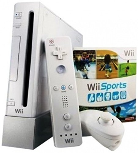 Wii with Wii Sports Game – White